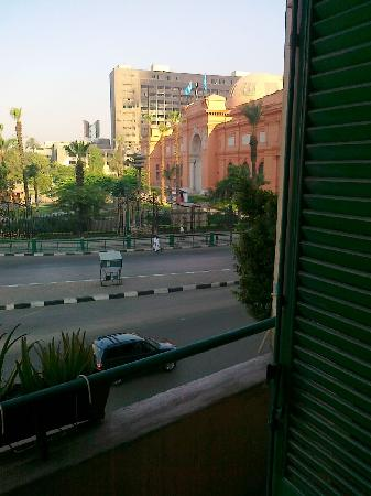 Museum View Hotel: The view