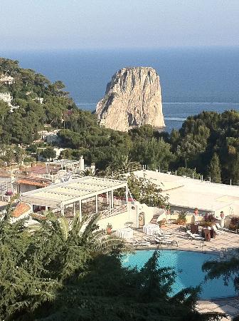 Grand Hotel Quisisana: balcony wiew
