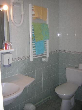 Hôtel Jean XXII : Salle de bain