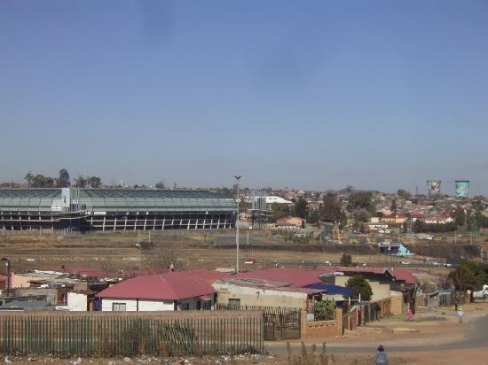 Orlando Stadion- also part of Soweto-place of the openning ceremonie of Soccer World Championshi