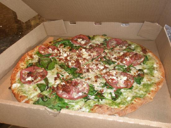 Palio's Pizza Cafe: Mean Green