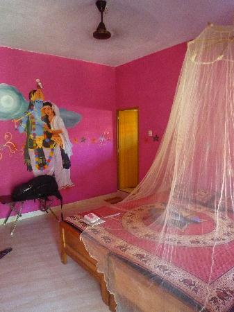 "La Maison de Varkala: La chambre ""Krishna"""