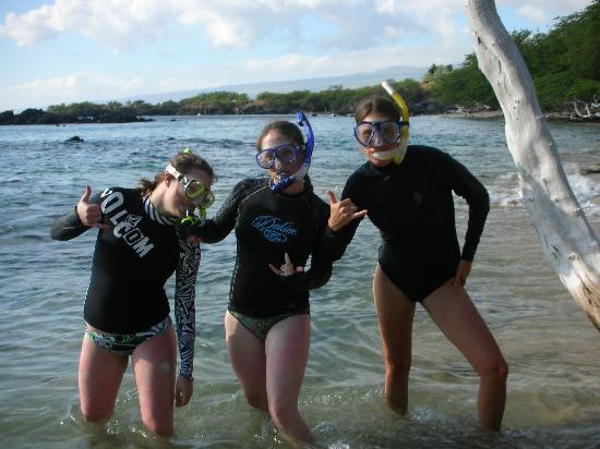 Kona Sugar Shack: great snorkeling close to the Sugar Shack