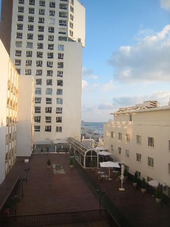 Dan Tel Aviv Hotel: view from room