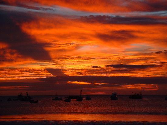 El Pacifico Hotel: San Juan del Sur Sunset