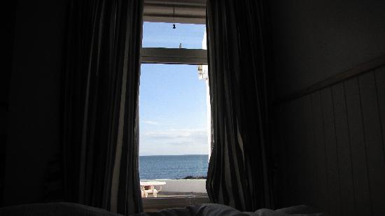 The White Cottages: Our room with sea view