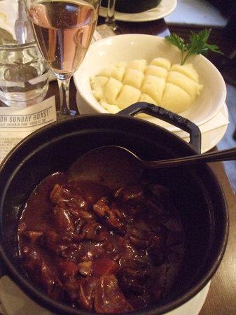 Boulevard Brasserie: Beef stew