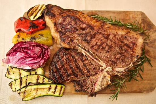 bistecca alla fiorentina - Foto di Restaurant La Stella, San Gimignano ...