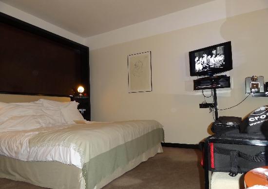 Maximilian Hotel: The room