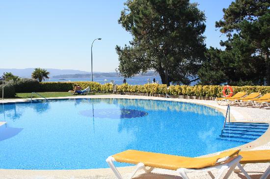 Hotel Eurostars Isla de La Toja: Piscina exterior