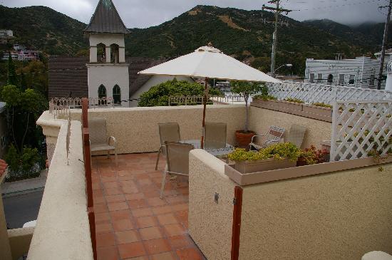 Casa Mariquita Hotel: Front roof patio