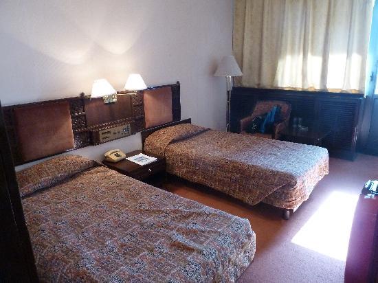 Bukhara Palace Hotel: Blick ins Zimmer