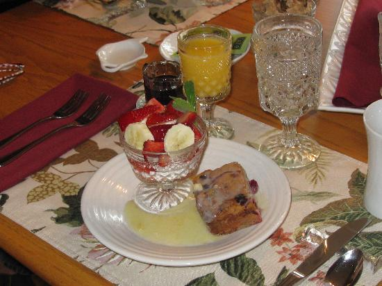 Habberstad House: delicious gourmet breakfasts