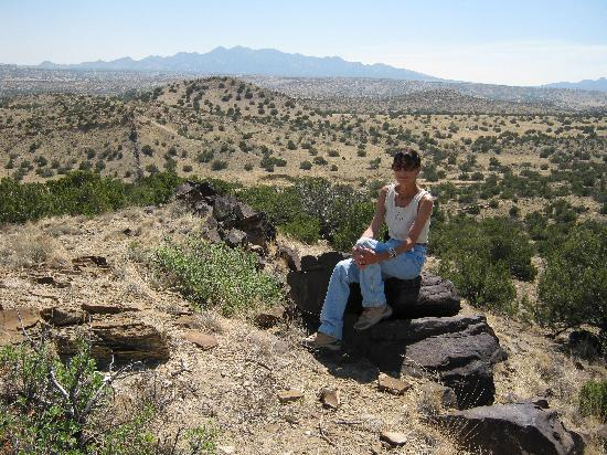 Albuquerque, NM: View of the Diamond Tail Ranch