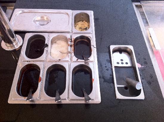 Mitsis Blue Domes Resort & Spa : Il kit per il gelato