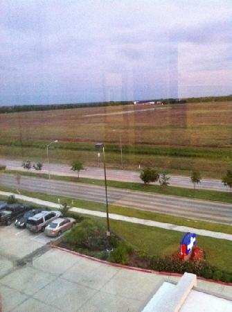 SpringHill Suites Houston Rosenberg : view from room 504.