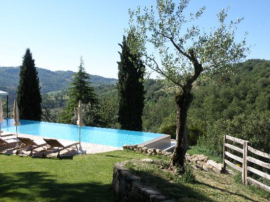 Borgo di Carpiano: The infinity pool