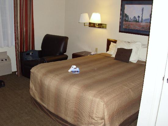 Candlewood Suites North Orange County: confy bed