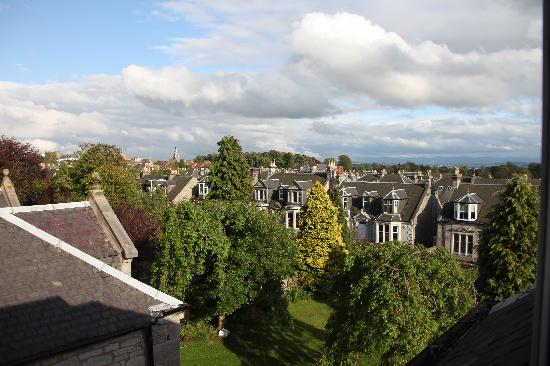 Davaar House Hotel and Restaurant: View from our window