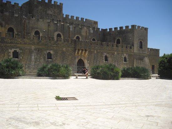 Partanna, Italie : Castello dei Grifeo