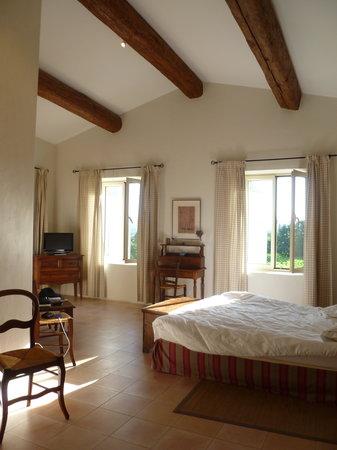 Le Mas del Sol : Our Room: Les Vignes