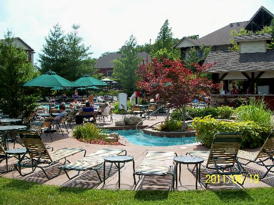 Marriott's Willow Ridge Lodge: One of three hottubs