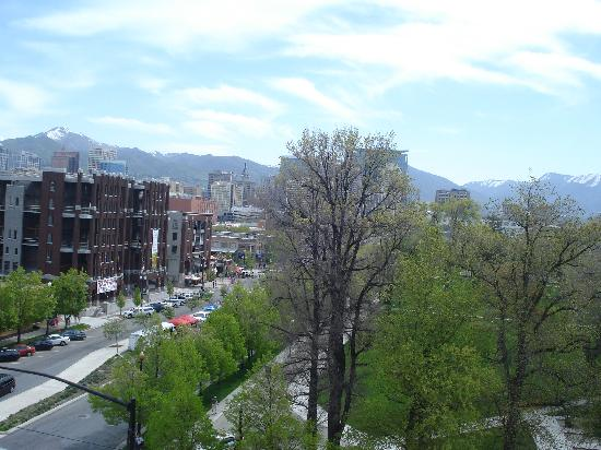Homewood Suites by Hilton Salt Lake City - Downtown: View from the room.