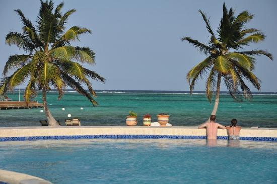 Grand Caribe Belize Resort and Condominiums: enjoying the surrounding beauty