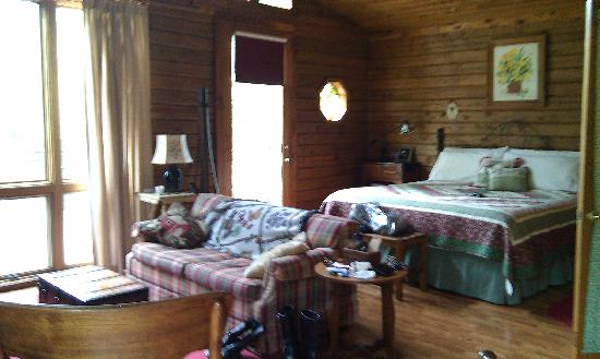 Shawnee Hill Bed and Breakfast : Comfy bed