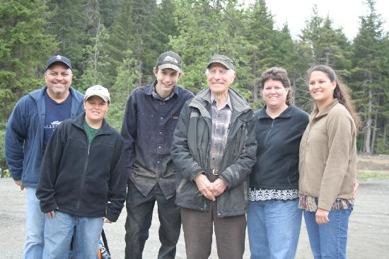 Haines, AK: The Valdez Family with Mr. Schnabel and Parker