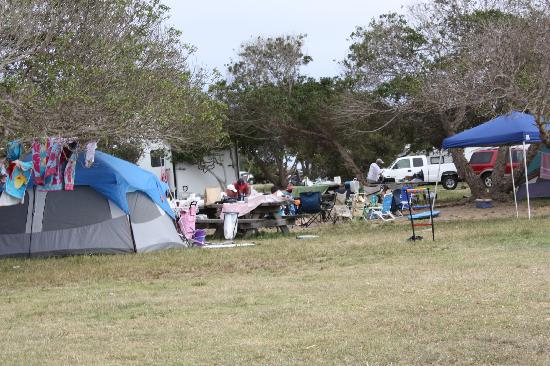 Carpinteria State Beach Campground Camping
