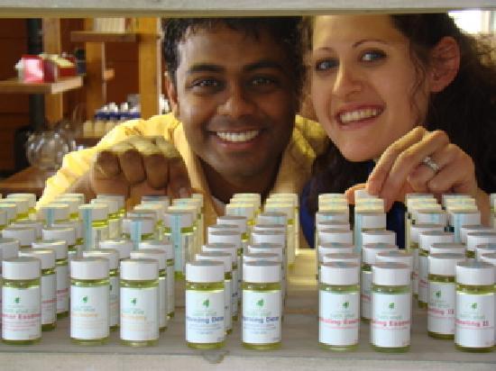 NEOB Lavender - Niagara Essential Oils & Blends: founders Robert & Melissa