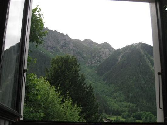 Chalet Blanche: view from bed