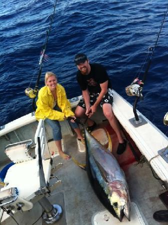Ahi picture of deep sea fishing kauai kapaa tripadvisor for Fishing in kauai