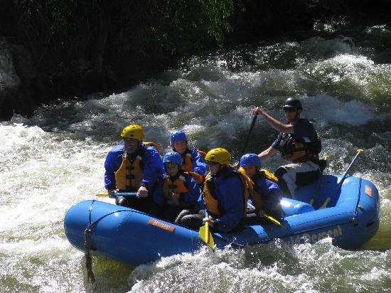 Liquid Descent Whitewater Rafting: In a Rapid