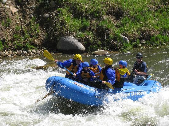 Liquid Descent Whitewater Rafting: In another Rapid