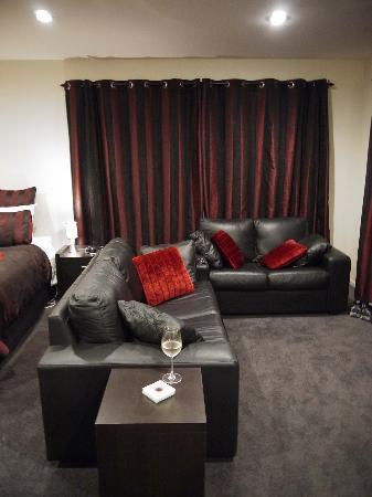 Marama Vineyard: Pinot Noir Suite, lounge