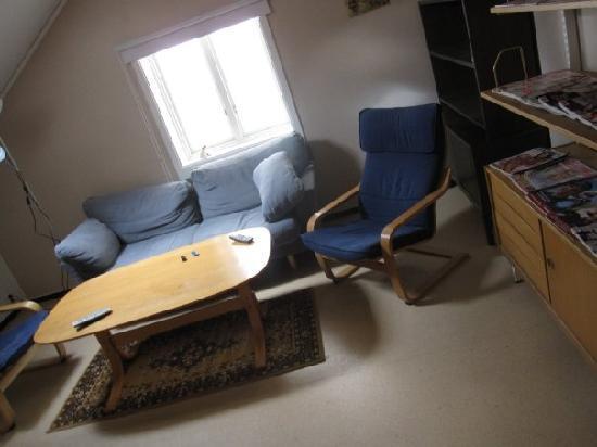 Vandrarhem Uppsala Kungsangstorg: TV room
