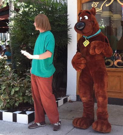 Universal Studios Florida: Scooby Doo and Shaggy