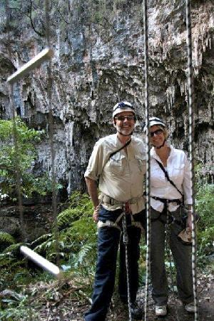 Cape to Cape Explorer Tours: Abseiling Bride Cave