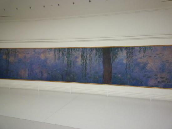 Musée de l'Orangerie : Morning Willows by Monet