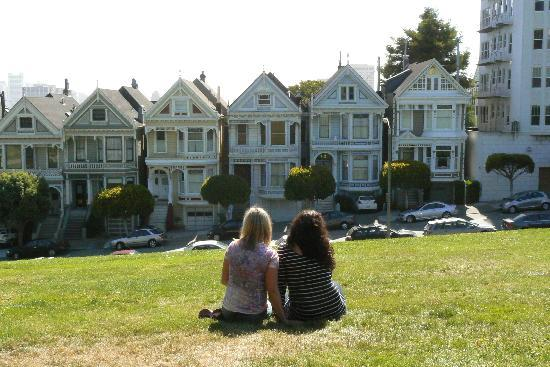 Painted Ladies: Postcard Row