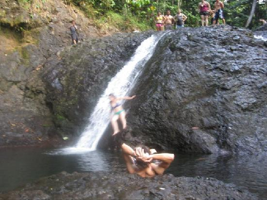Apia, Samoa: the big slide