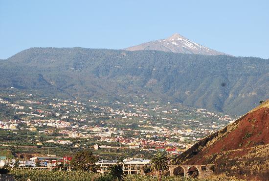 diverhotel Tenerife Spa & Garden : Vistas al Teide