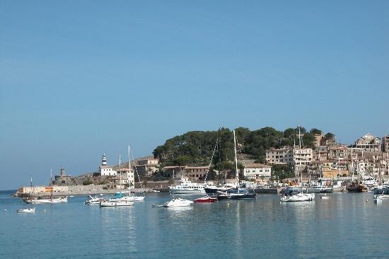 SENTIDO Porto Soller: Blick auf den Hafen