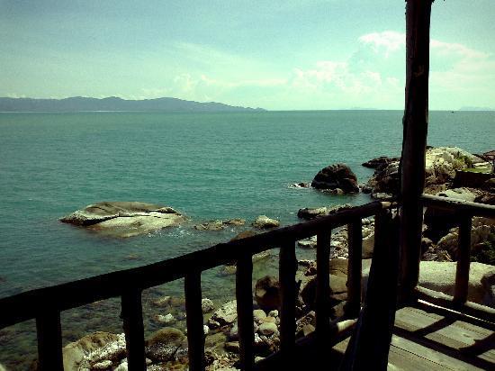 Lighthouse Bungalows: Balcony