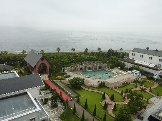 Sheraton Grande Tokyo Bay Hotel : 部屋からの眺め(ベイサイド)