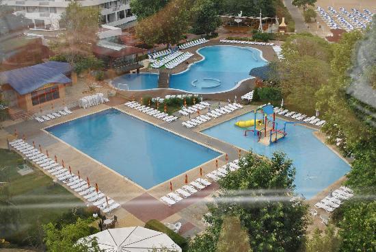 Hotel Kaliakra: The hotel pools