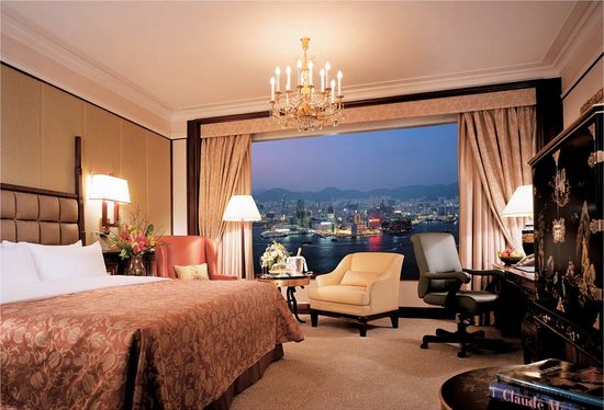 Island Shangri-La Hong Kong: Deluxe Harbour View Room