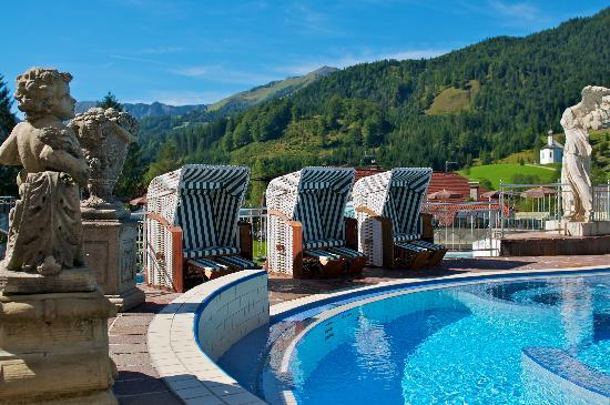 Posthotel Achenkirch: Aussicht vom Pool